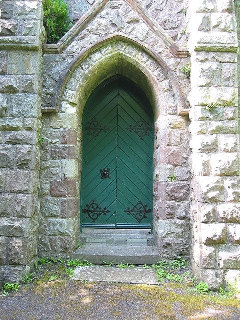 Vaynor Church Door Wales Beautiful Places Places Wales