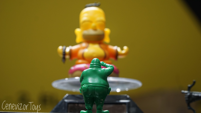Simpsons, simpsonlar, homer simpson, fat soldier, şişko asker, oyuncak, oyuncak fotoğrafçılığı, toy photo, toy photography