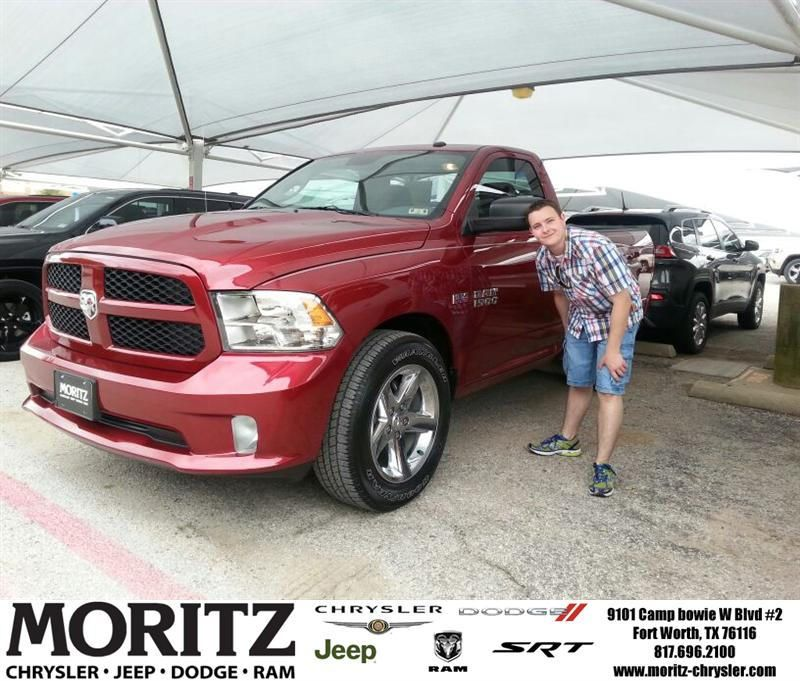 Congratulations To Shane Delorantis On Your Ram 1500 Purchase