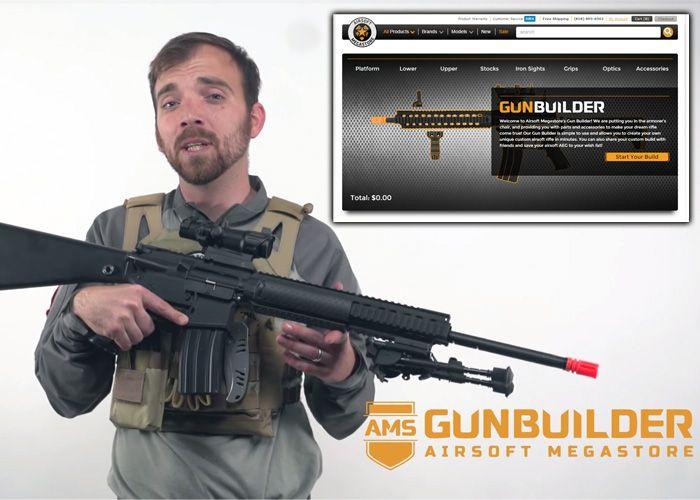 airsoft megastore launches the interactive custom airsoft gun