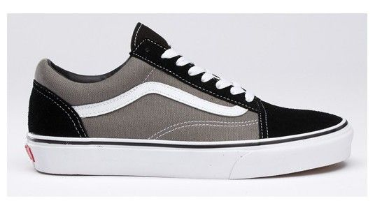 625d9309a4 Product  Suede Canvas Old Skool. Find this Pin and more on sneakers by  czerwinskizc. Vans Shoes Gray True White Genuine Womens Mens ...
