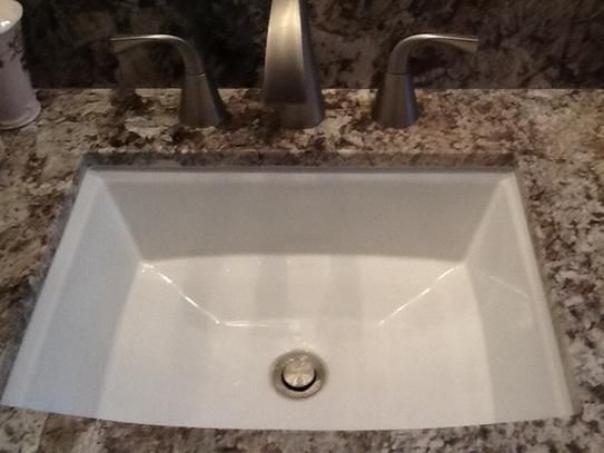 kohler archer vitreous china undermount bathroom sink with overflow drain in white with overflow drain
