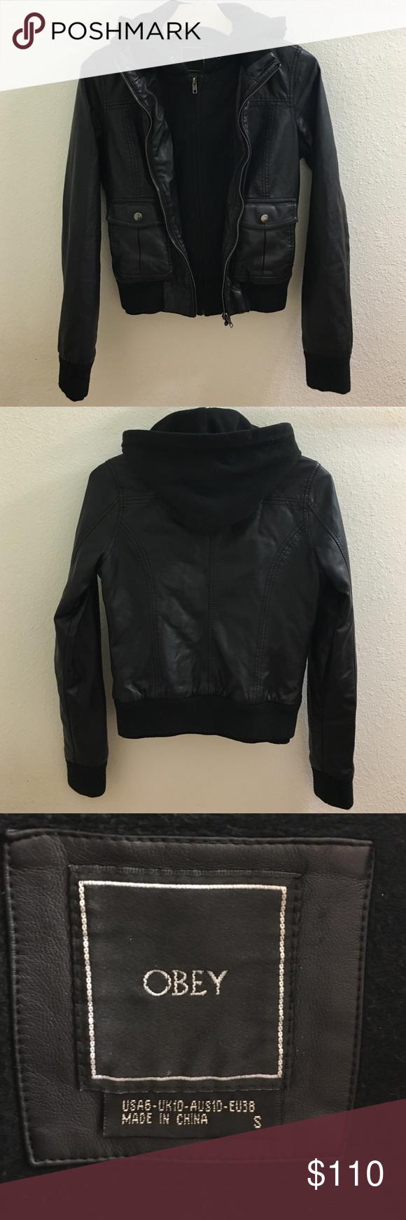 Lock And Love Women S Removable Hoodie Motorcyle Jacket Xs Black Jaquetas Femininas Roupas Roupas Pretas [ 1944 x 1500 Pixel ]