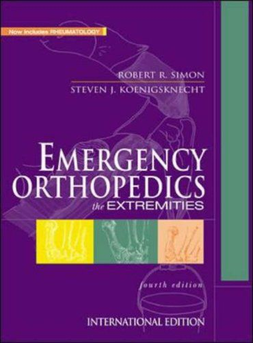 Emergency Orthopedics Http Www Healthbooksshop Com Emergency Orthopedics