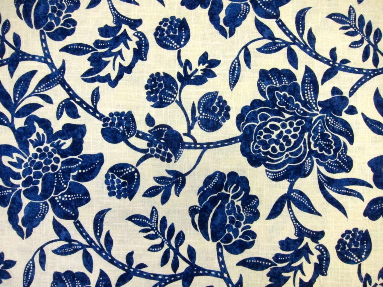 Linen and Rayon Print
