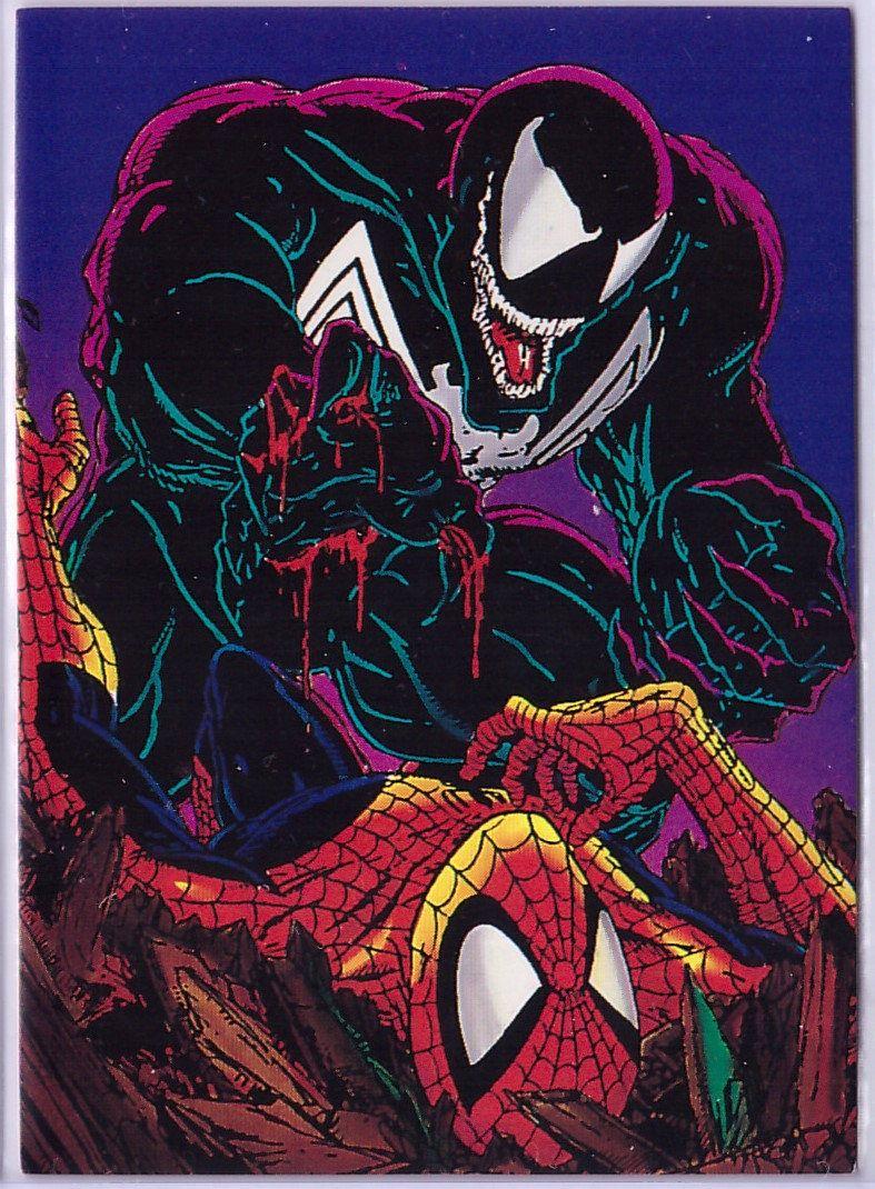 72 Venom Card From Spider Man 2 30th Anniversary Set Symbiotes