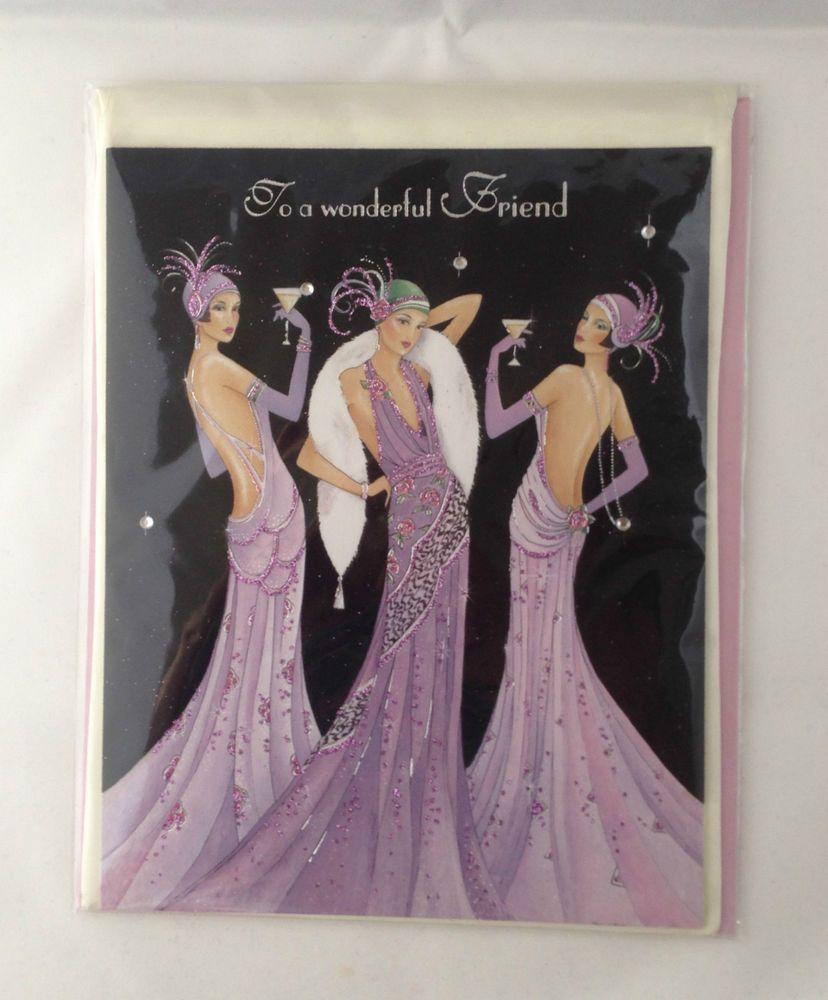 3 Elegant Ladies Dressed