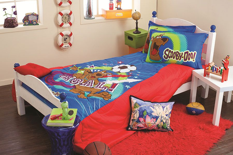 Scooby Doo Collection Bedsheet Bed Bed Sheets Bedroom Design