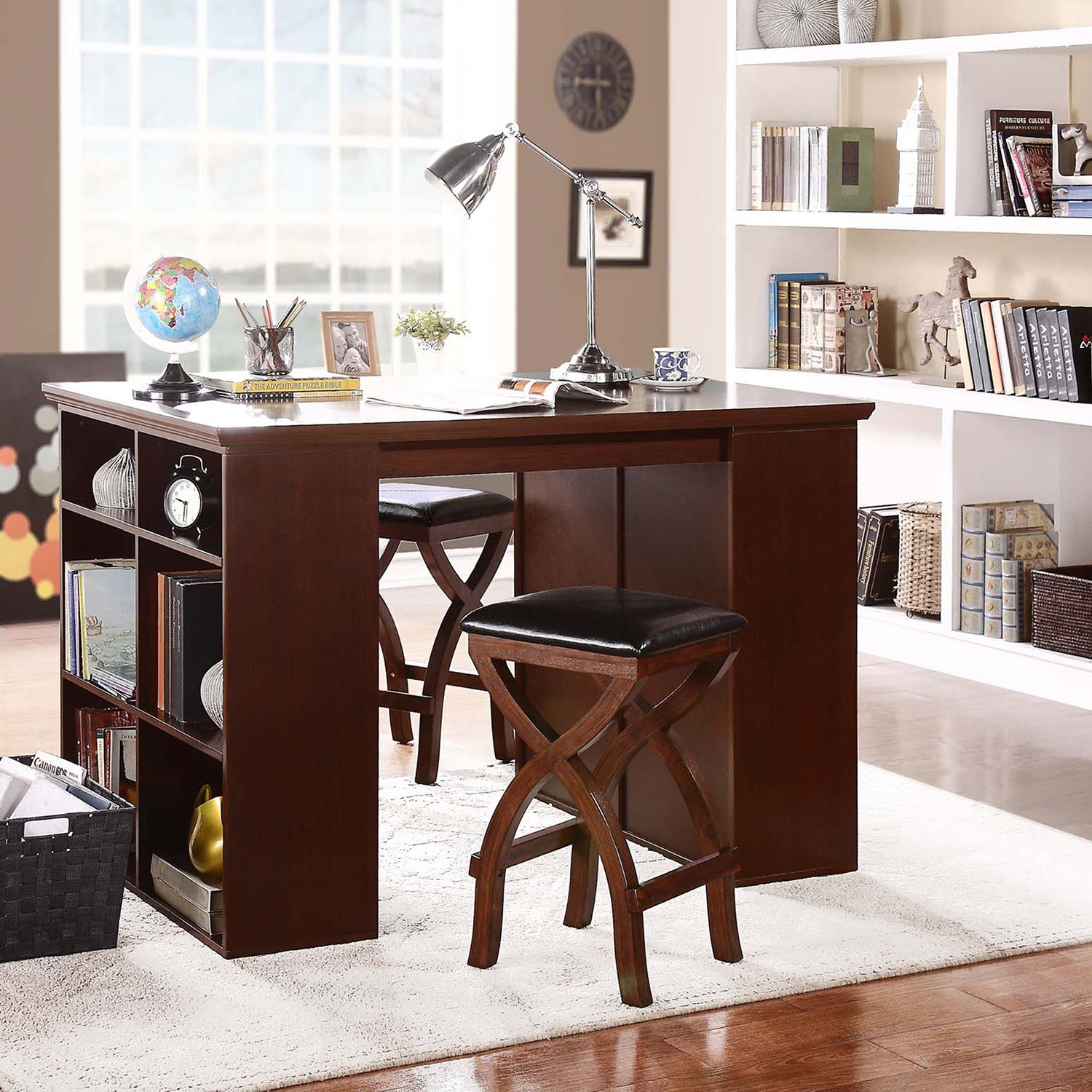 26++ Counter height craft table on wheels ideas