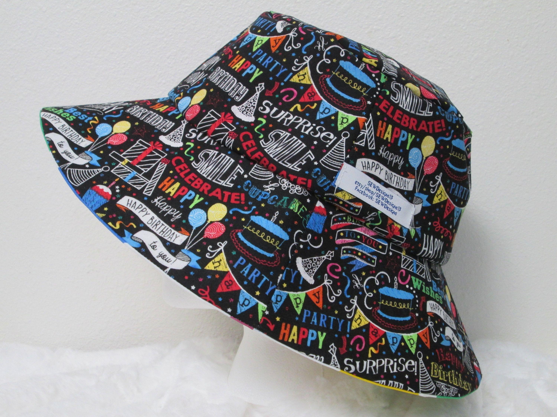 Bucket Hat 25 Xxlarge Birthday Hat Happy Birthday Hat Twister Birthday Cake Hat Birthday Hat Birthday Traditions Birthday Picnic In The Park