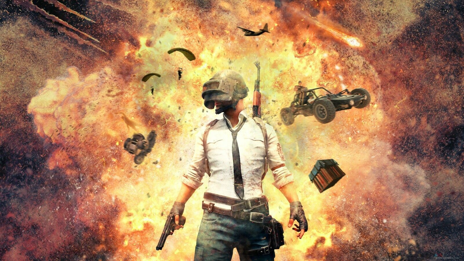 Pubg Playerunknown S Battleground Battlegrounds Silk Poster 24 X 14 Inch Wallpaper Pc Hd Wallpaper 4k Samsung Wallpaper