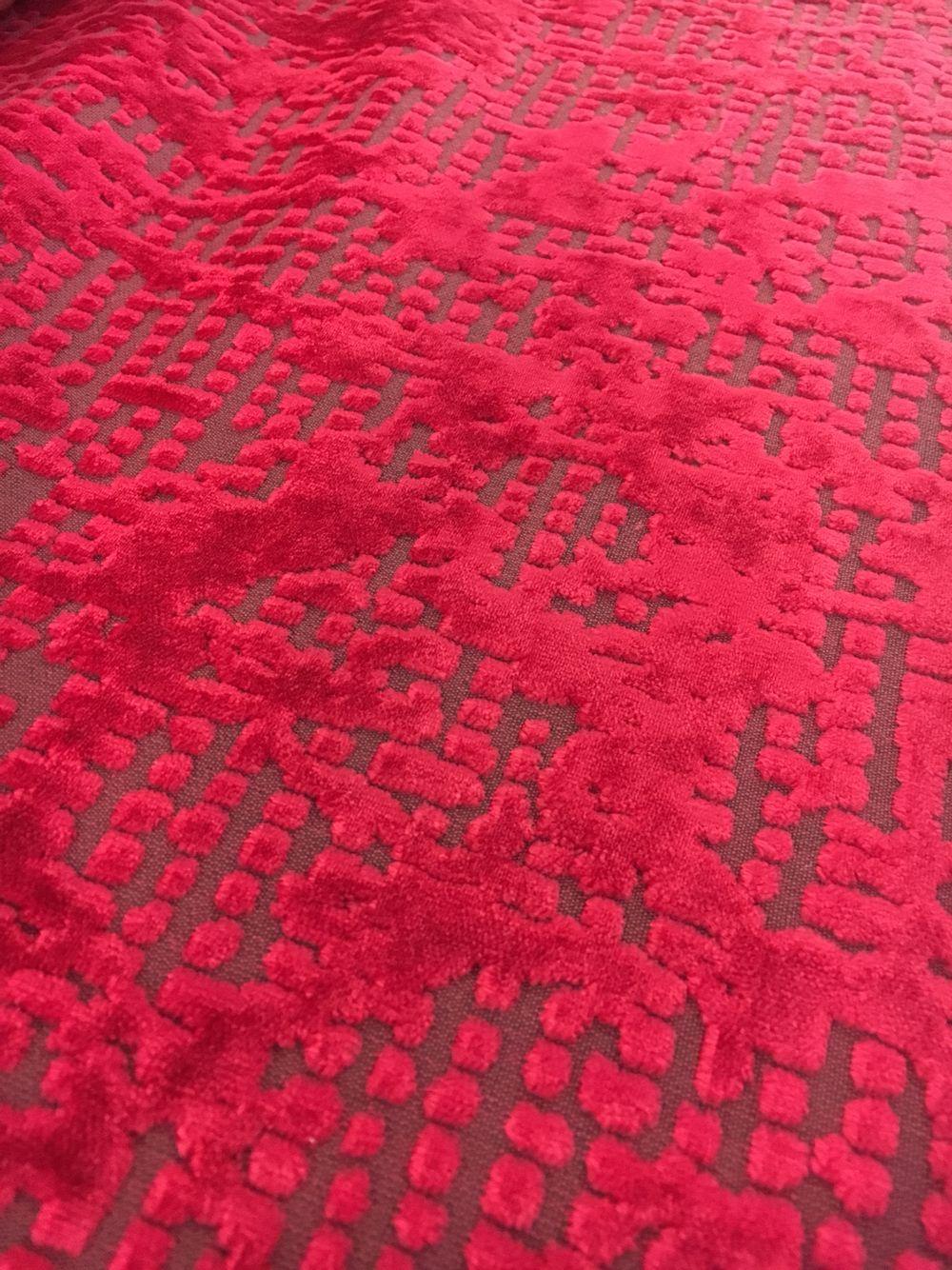 Großartig Plissee 140 Cm Breit Ideen Von Möbelbezugsstoff Designers Guild Borati, Farbe Cranberry, 140cm