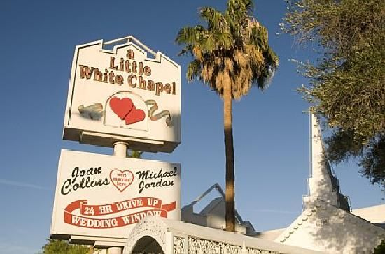 Pictures Of Las Vegas Attractions Little White Chapel Reviews Wedding