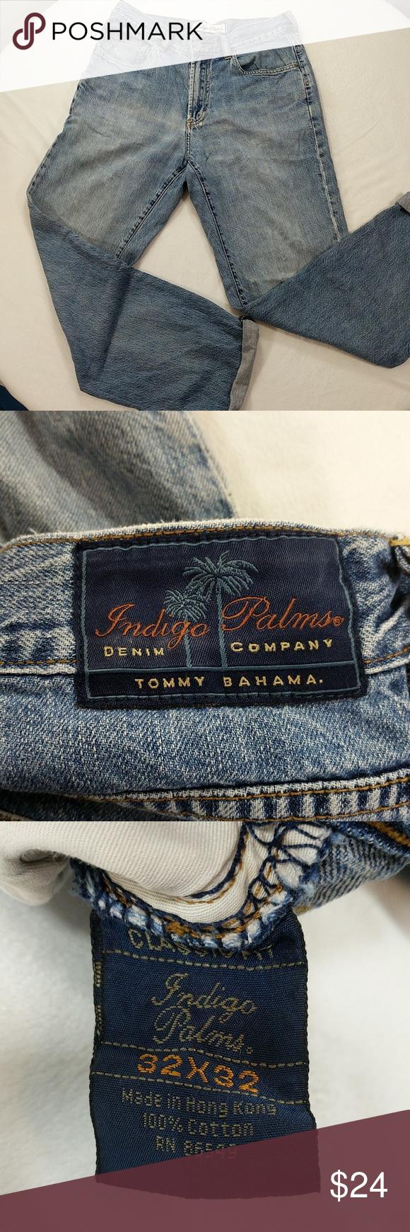 b2794220a7f Indigo Palms Tommy Bahama distressed dad jeans 32 x 32 Tommy Bahama Jeans  Boyfriend