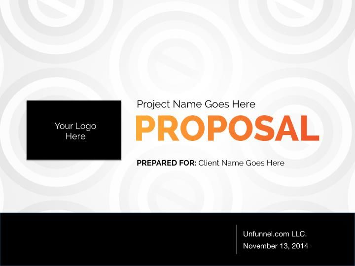 Partner Lead Generation Proposal Template  Proposal Templates