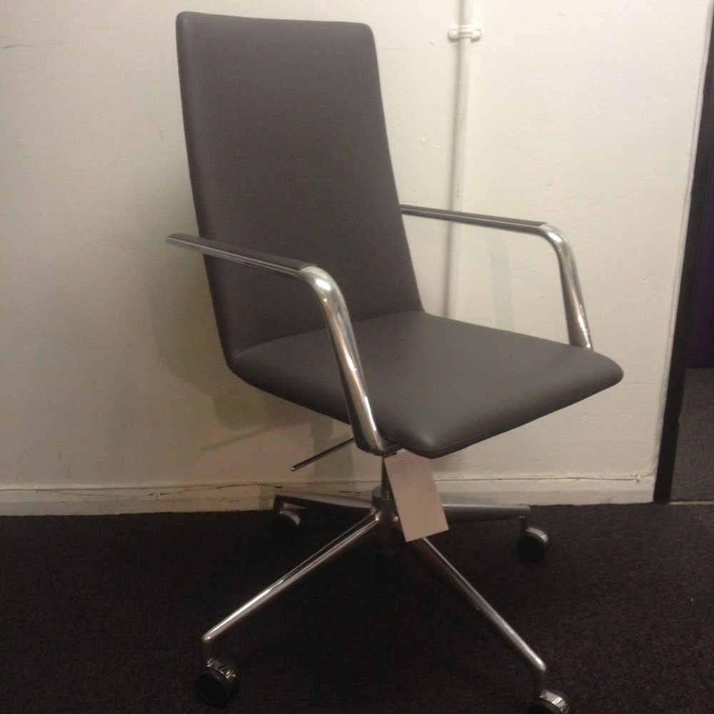 Second Hand Büromöbel Second Hand Finasoft Executive Chair Grey Office Chairs