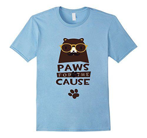Men's Paws For The Cause Dog Lovers Tshirt 2XL Baby Blue ... https://www.amazon.com/dp/B01N7DWIQQ/ref=cm_sw_r_pi_dp_x_UrirybYDM9PRX