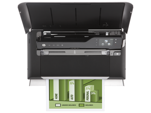 Hp Officejet 150 Mobile All In One Printer L511a Hp Officejet Printer Desktop Computers
