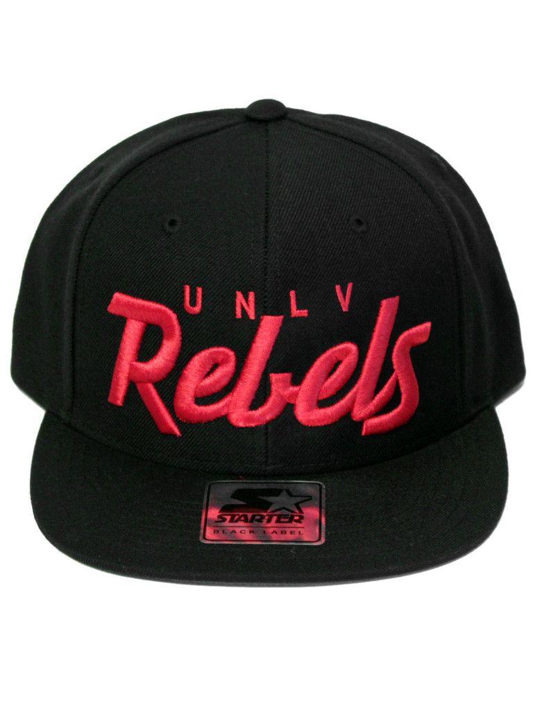818c914c6a2 UNLV Rebels Black Script Snapback
