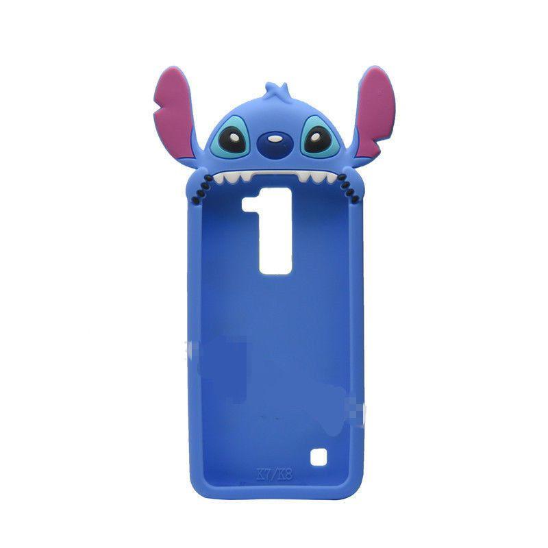 best service 09cf8 3a4d6 3D Cute Cartoon Soft Silicone Gel Rubber Cover Case Skin For LG K7 ...