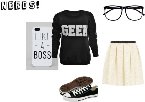 """""""NERDS!"""" by oliviawright on Polyvore"""
