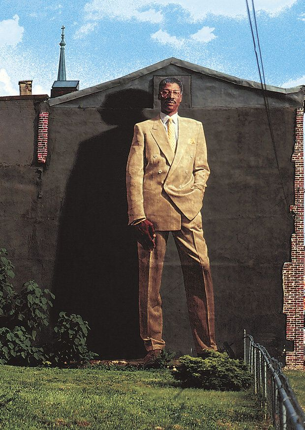 julius irving mural philadelphia...I remember when they did this, I thought that was my grandpop LOL
