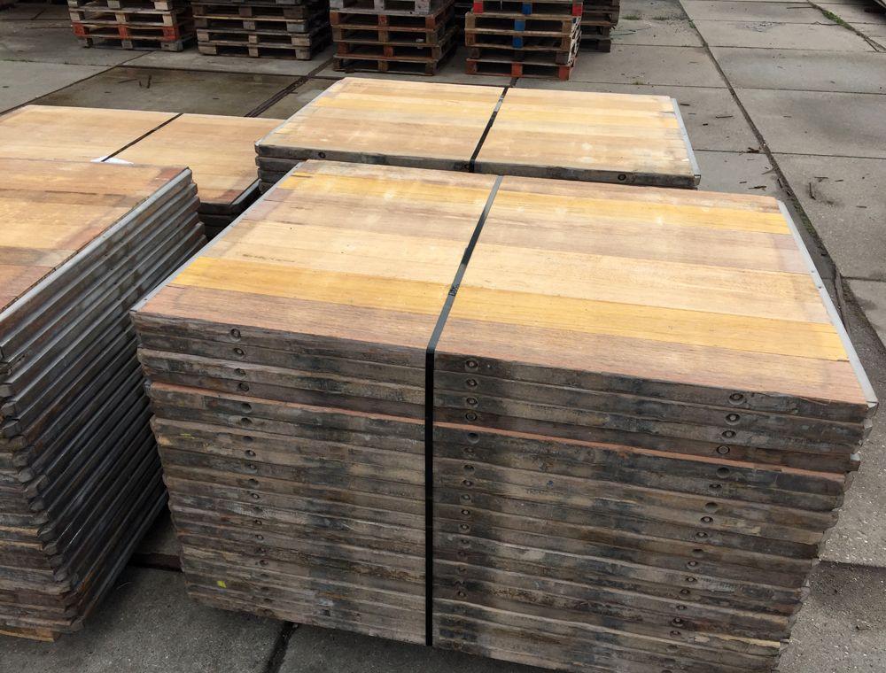Balkon Tegels Gamma : Luxe steenschotten hardhout 110 x 140 cm a kwaliteit geschuurd