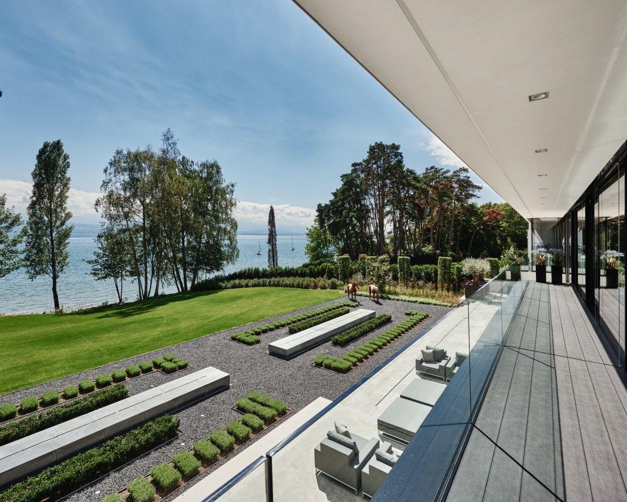 Switzerland lakeside villa