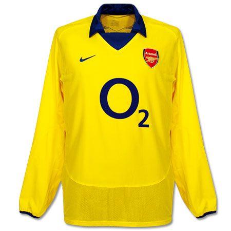 meet b610d b70d2 Arsenal 2004-05 Away (Long Sleeve) | Nike Football Kits