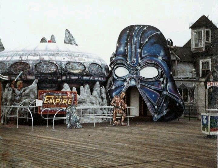 The Empire Strikes Back Ride On The Wildwood Boardwalk 1980