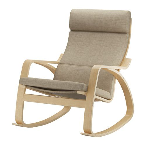 POÄNG Rocking chair birch veneer Isunda beige Isunda beige birch veneer  sc 1 st  Pinterest & Poäng | Pinterest | Beige Birch and Rocking chairs