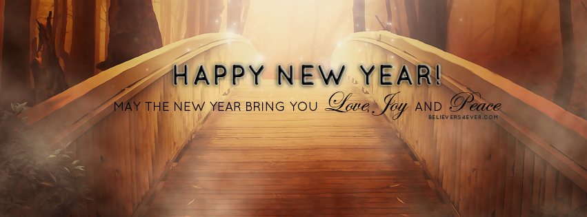 Love, Joy & Peace | Christian facebook cover, Happy new ...