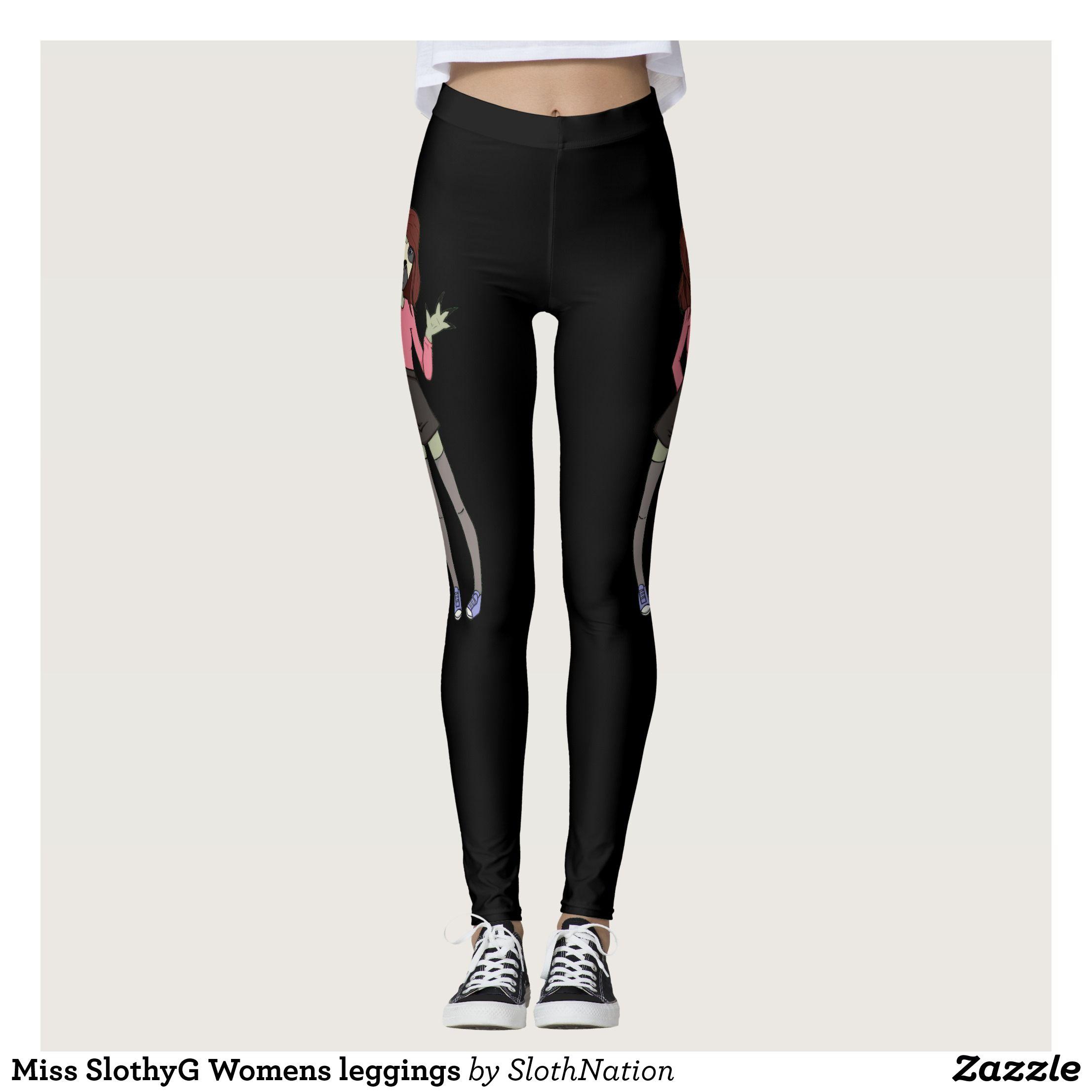 Miss SlothyG Womens leggings