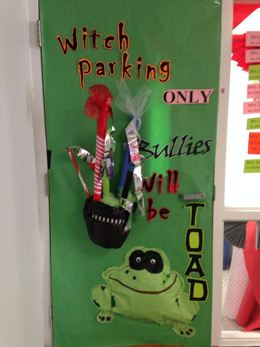 Anti bullying door decorating idea