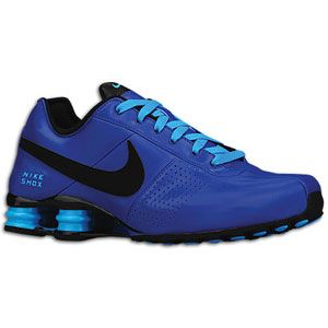 Nike Shox Blue And Black