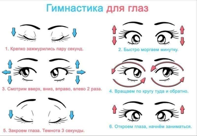Гимнастика для глаз | Eye health, Pastel aesthetic, Health