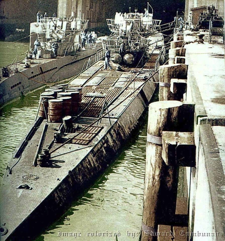U-861 était un type IXD2 U-boat allemand Kriegsmarine ...