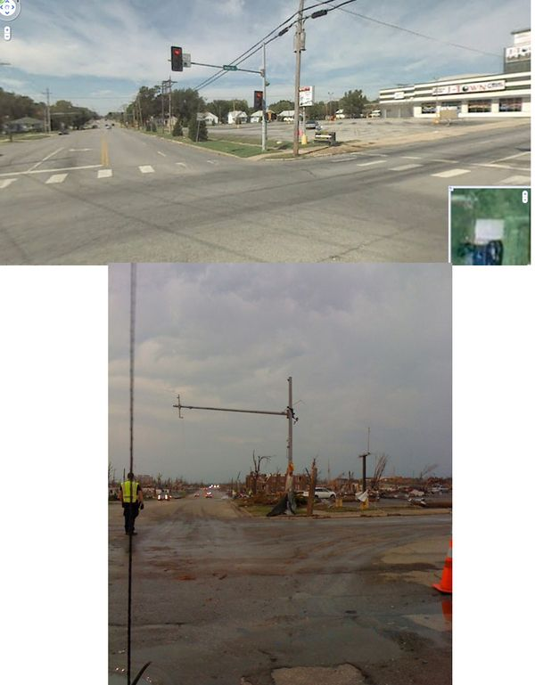 9 Shocking Before After Pictures Of Joplin Missouri Joplin Tornado Tornado Pictures Joplin
