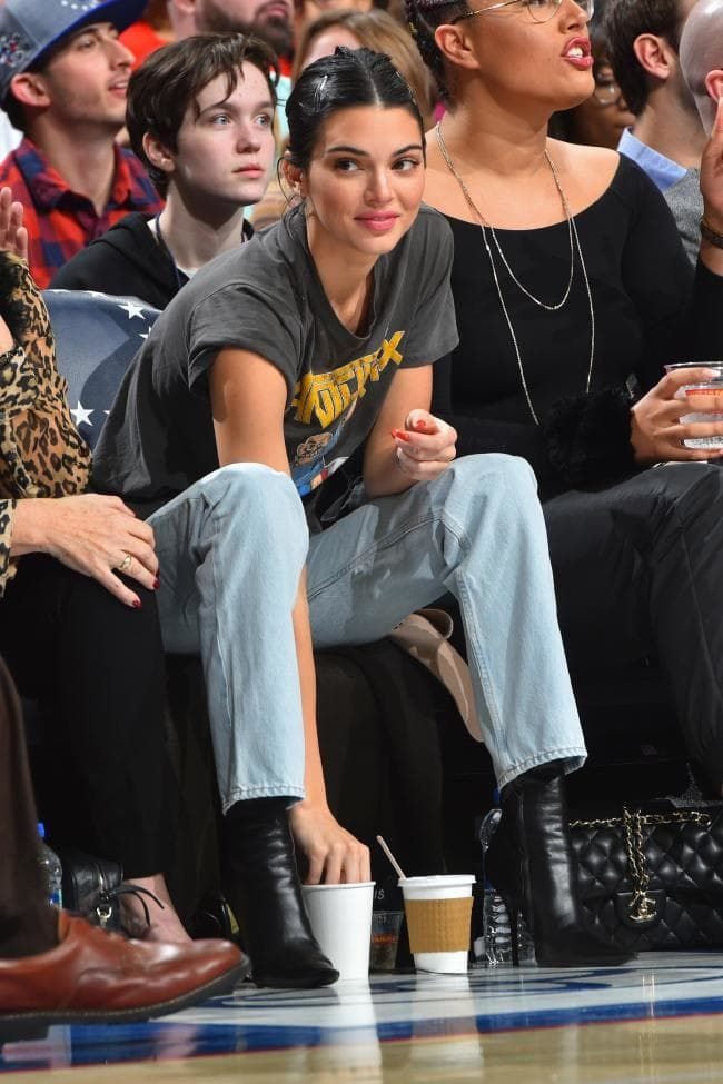 Take your cues from these celebrity courtside looks before heading to your next basketball game