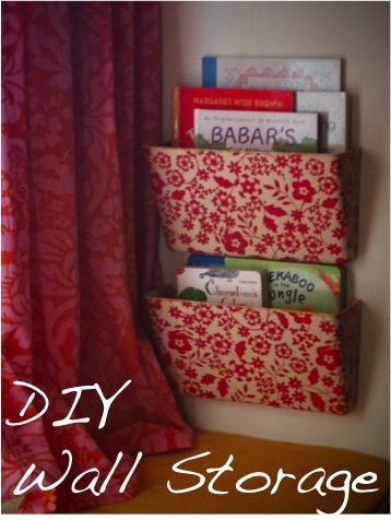 wall files | ... storage using wrapping paper mod podge and wall mounted plastic file & wall files | ... storage using wrapping paper mod podge and wall ...