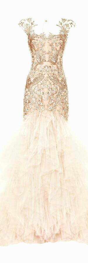Soooo espectacular this dress from Marchesa collection 2014 l Impresionante este vestido de la colección 2014 de Marchesa