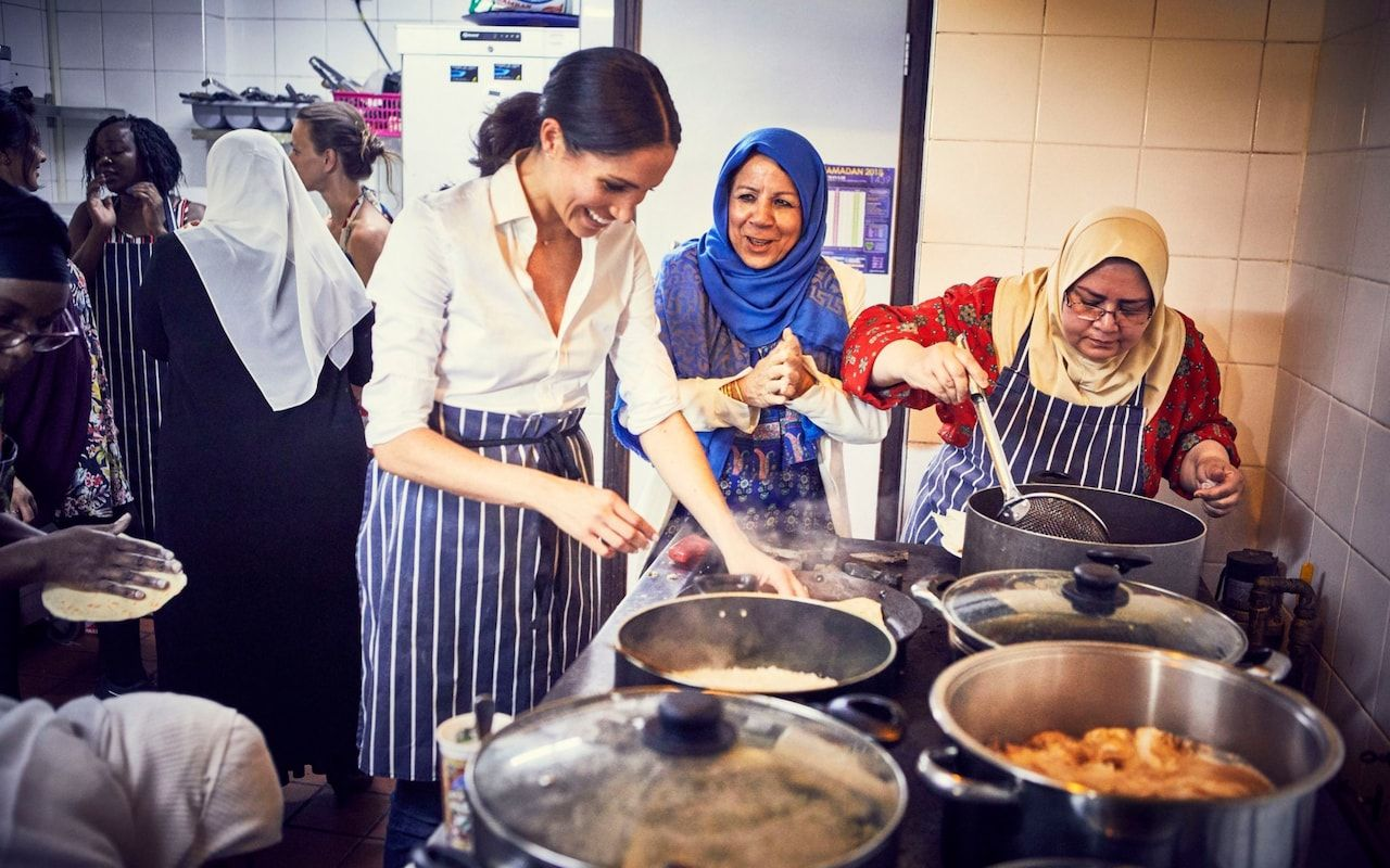 Earlier this week, the Duchess of Sussex announced her first solo project as a member of the Royal family: a charity cookbook to help the community affected by the Grenfell Tower tragedy.