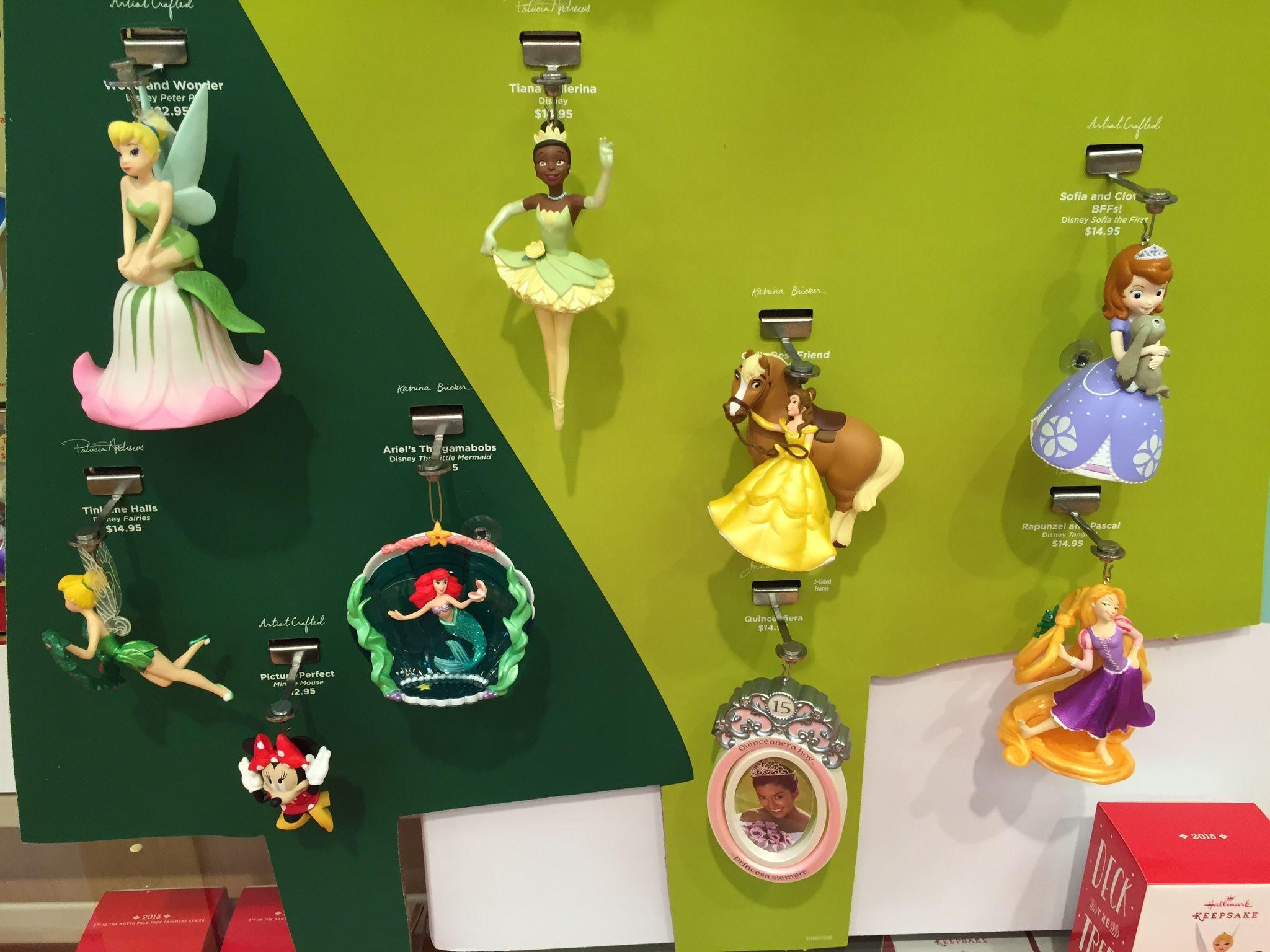 Disney Hallmark Keepsake Ornaments 2015 Release 1 Wdw Radio Your Walt Disney World Inform Disney Princess Ornaments Hallmark Keepsake Ornaments Ornaments