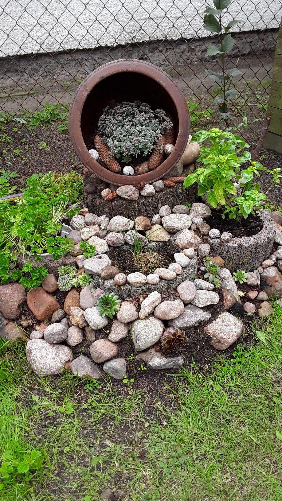 die besten 25+ steingarten anlegen ideen auf pinterest | bachlauf ...