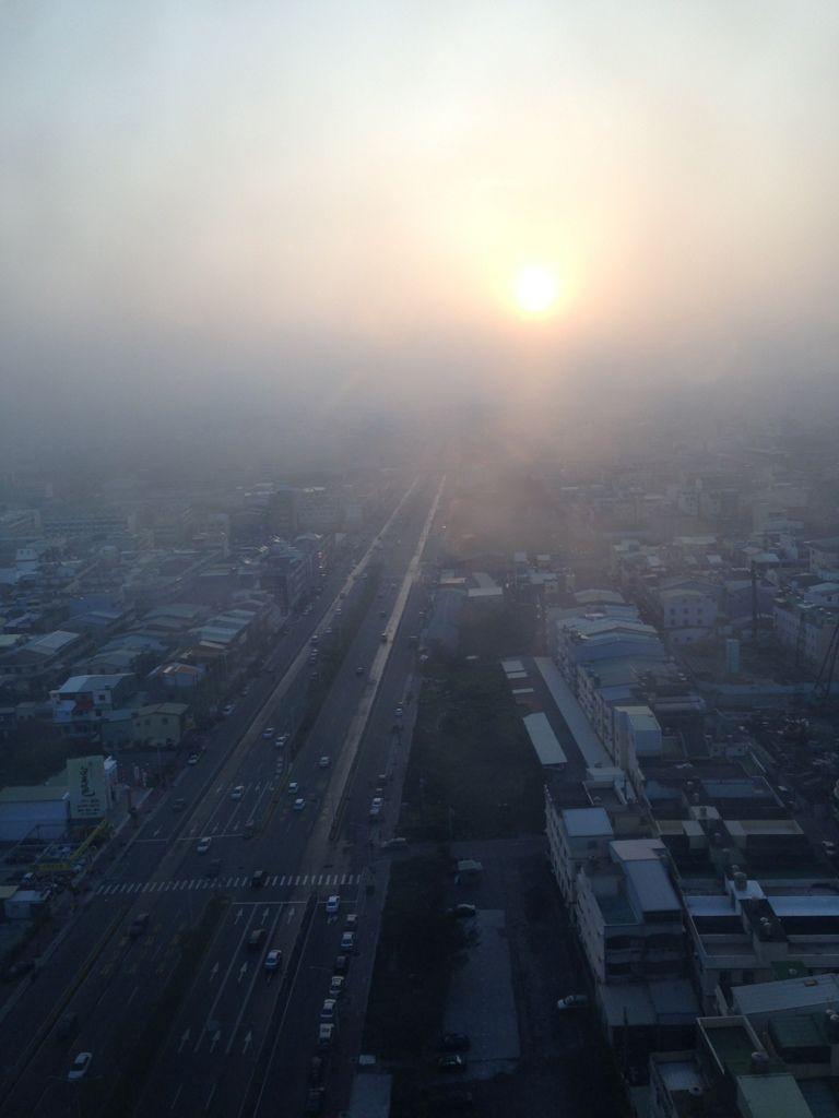 Xitun, Taiwan   wezzoo #WeatherByYou   2013-01-17