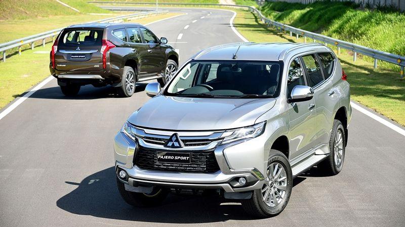 mẫu xe suv gia đình 7 chỗ mitsubishi pajero sport 2017 có