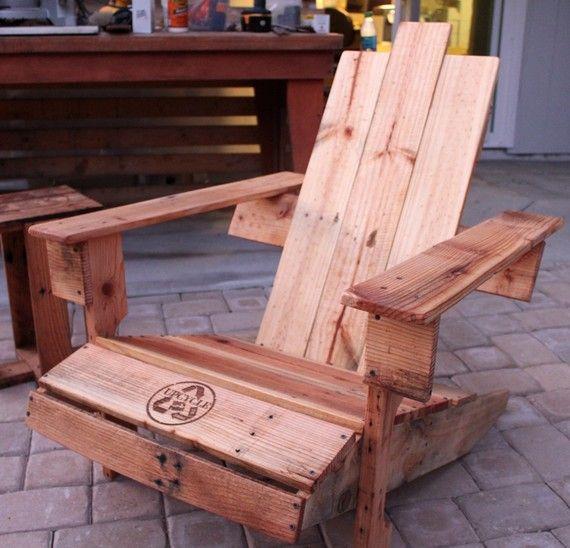seats – Pallet Adirondack Chairs