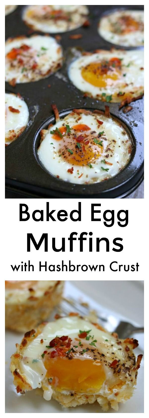 Photo of Baked Egg Muffins with Hash Brown Crust – 365 Days of Slow Cooking and Pressure Cooking