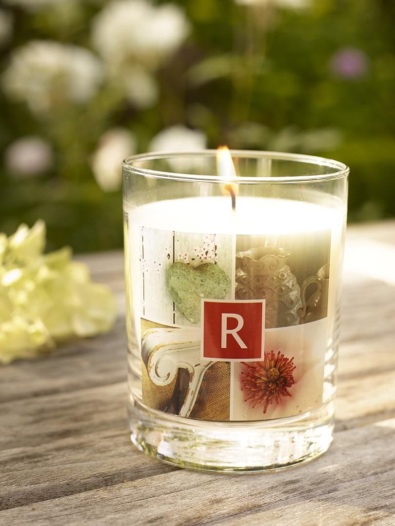 Add a little ambiance with scented glass candles for the indoors and outdoors. | Shutterfly