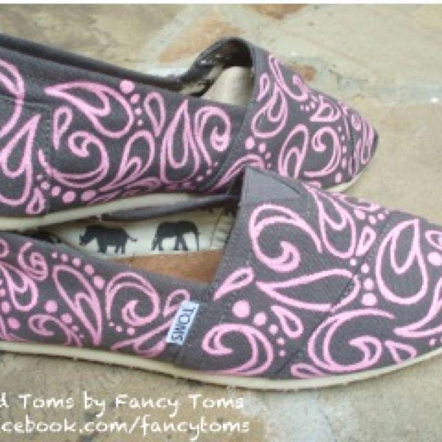 Handpainted toms!
